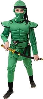 NET TOYS Genial Vestimenta de Ninja para niño - Verde 123 ...