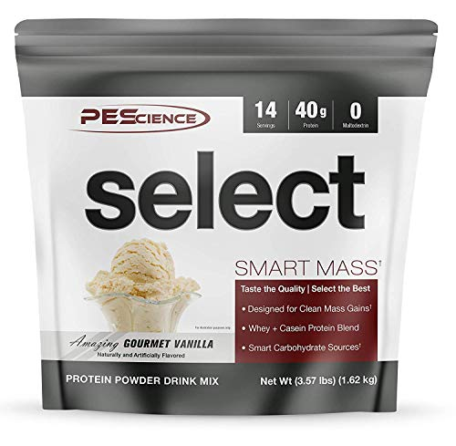 PES Select Smart Mass Gourmet Vanilla 14 Servings, 1.62 kg