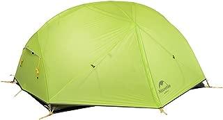 Naturehike Mongar テント 2人用 アウトドア 二重層 超軽量 4シーズン 防風防水 PU4000 キャンピング(専用グランドシート付)