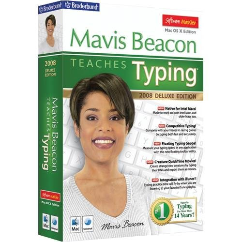 mackiev Mavis Beacon Teaches-Typing 2008 Deluxe – Macintosh by mackiev