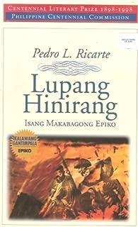 Lupang hinirang: Isang makabagong epiko (Tagalog Edition)
