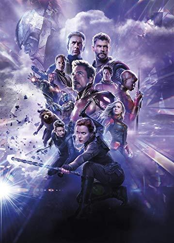 Marvel Avengers Endgame 62 - Cartel de la película de cine - La reproducción, el regalo perfecto - A3 Cartel (16.5/11.7 inch) - (42/30 cm) - Papel fotográfico grueso brillante