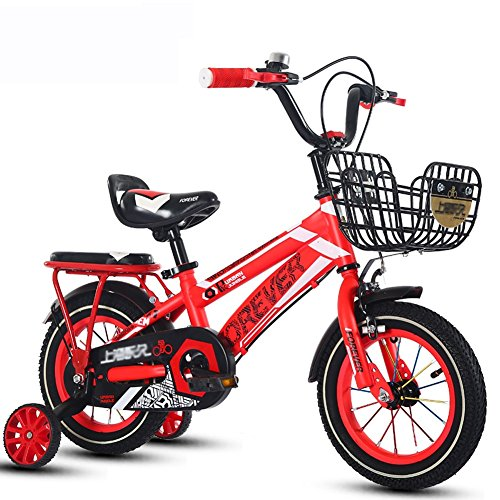 Great Features Of Kid's Bike SunHai Freestyle, 18 inch Children's Bike 6-9-year-old Boys and Girls P...