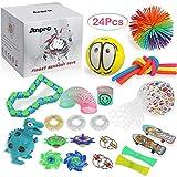 Anpro 24pcs Kit de Juguetes Antiestrés,Libera Estrés y Ansiedad para...