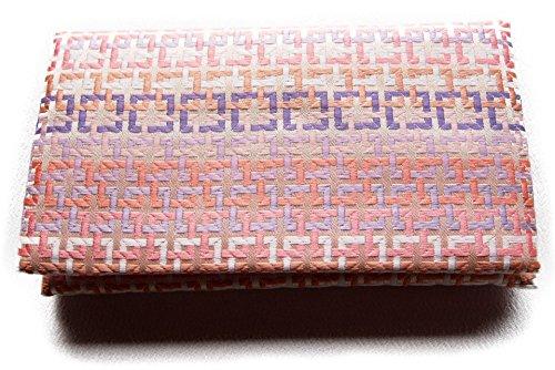日本製 金封 ふくさ 袱紗 四角シリーズ (四角紫ピンク)