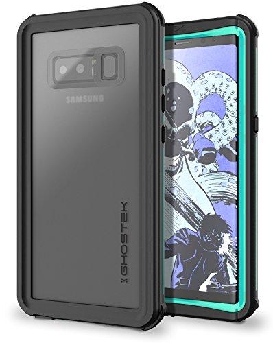 Ghostek Nautical Full Body Waterproof Case Designed for Samsung Galaxy Note 8 – Teal