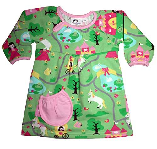 JNY Colourful Kids Robe de body pour fille Vert - Vert - 56