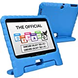 Cooper Dynamo [Rugged Kids Case] Protective Case for Samsung Tab 4 10.1, Tab 3 10.1   Child Proof Cover with Stand, Handle   SM-T530 T531 T535 (Blue)