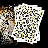 FashionTats Gold Leopard Print Temporary...