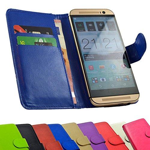 ikracase Tasche für Gigaset GS370 Hülle Case Etui Handy-Tasche Schutzhülle Handy-Hülle in Blau