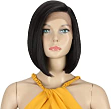 DÉBUT lace front wigs for black women Bob wigs for white women synthetic hair 9.5