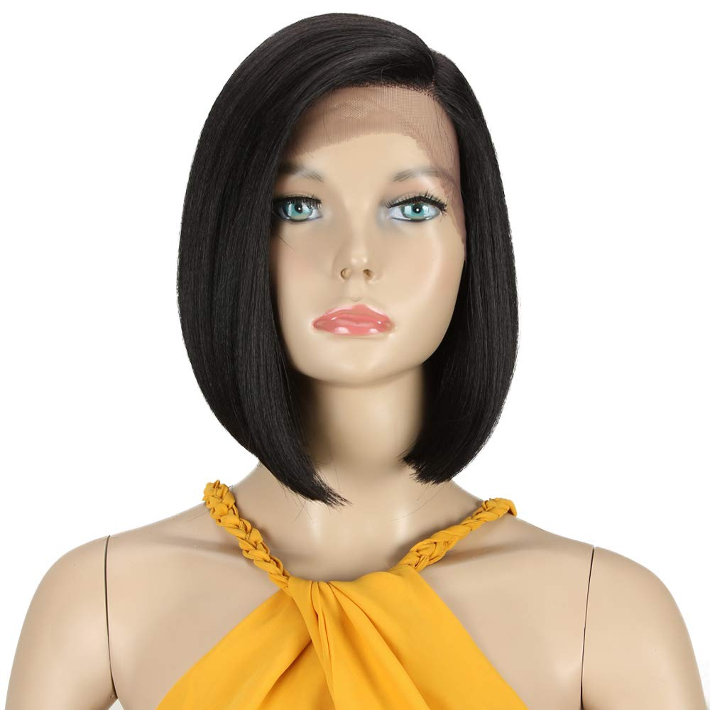 High quality new Début Lace Front Wigs for Free Shipping Cheap Bargain Gift Bob Black White Wome Women