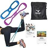 Se7en Fitness 2 bandas de resistencia para entrenamiento