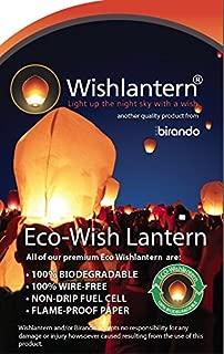 Eco White Wish Lanterns (Pack of 5) - The Original Sky Lanterns