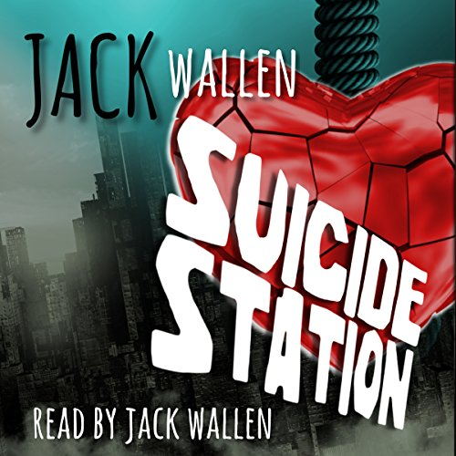 Suicide Station audiobook cover art
