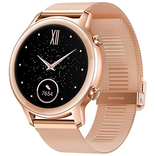 HONOR Magic Watch 2, Display 1,20 Zoll AMOLED, Kirin A1, GPS GLONASS, 6 Sensoren, IP68, Akku 455 mAh, Sakura Gold
