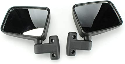 Chikia Pair L+R Side View Mirror For UTV 400 500 700 HiSun,Massimo MSU500,SuperMach