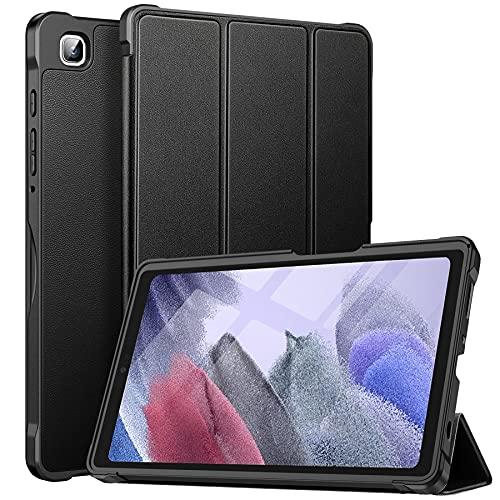 ZtotopCases Custodia per Samsung Galaxy Tab A7 lite 8.7 Pollici 2021 (SM-T220 SM-T225), Cover in PU Ultra Sottile e Leggera, per Samsung Galaxy Table A7 lite, Nero