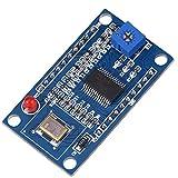 Modulo generatore di segnale AD9850 Generatore di segnale di funzione 0-40 MHz di 2 sinusoidali e 2 uscite ad onda quadra adotta l'oscillatore a cristallo da 125 MHz