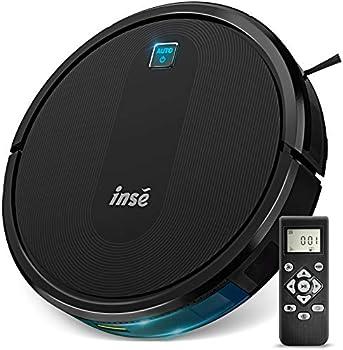 INSE E6 Ultra Slim Self Charging Robotic Vacuum Cleaner