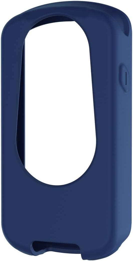 PÍXIDE ACDD para Garmin Edge 1030 Plus/Edge 1030 Universal Silicone Funda Protectora (Color : Dark Blue)