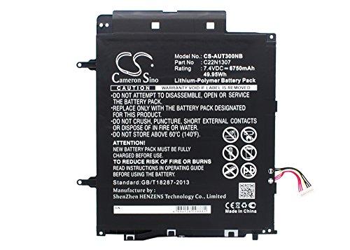 6750mAh Battery for Asus T300CHI-F1-DB T300LA-13NB02W1M28011 T300LA-BB31T