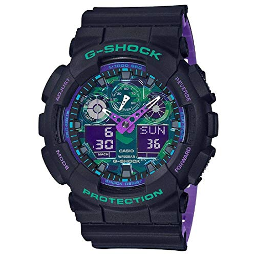 CASIO (カシオ) 腕時計 G-SHOCK(Gショック) GA-100BL-1A メンズ [並行輸入品]