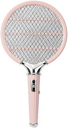 GWL-Killing Mosquitoes Raquette Bug Zapper, tapette à Mouche électrique et Moustique Rechargeables à Long Manche
