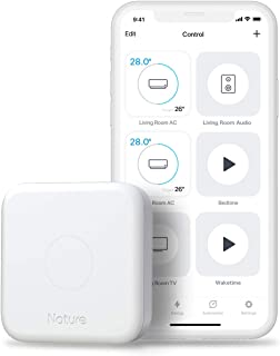 Nature Remo 3 | Smart Universal Remote | Control Air Conditioner, TV, Lighting | Compatible with Alexa, Google Home