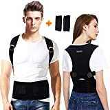 Back Brace Posture Corrector for Men - Medical Posture Brace for Women - Best Adjustable Back...