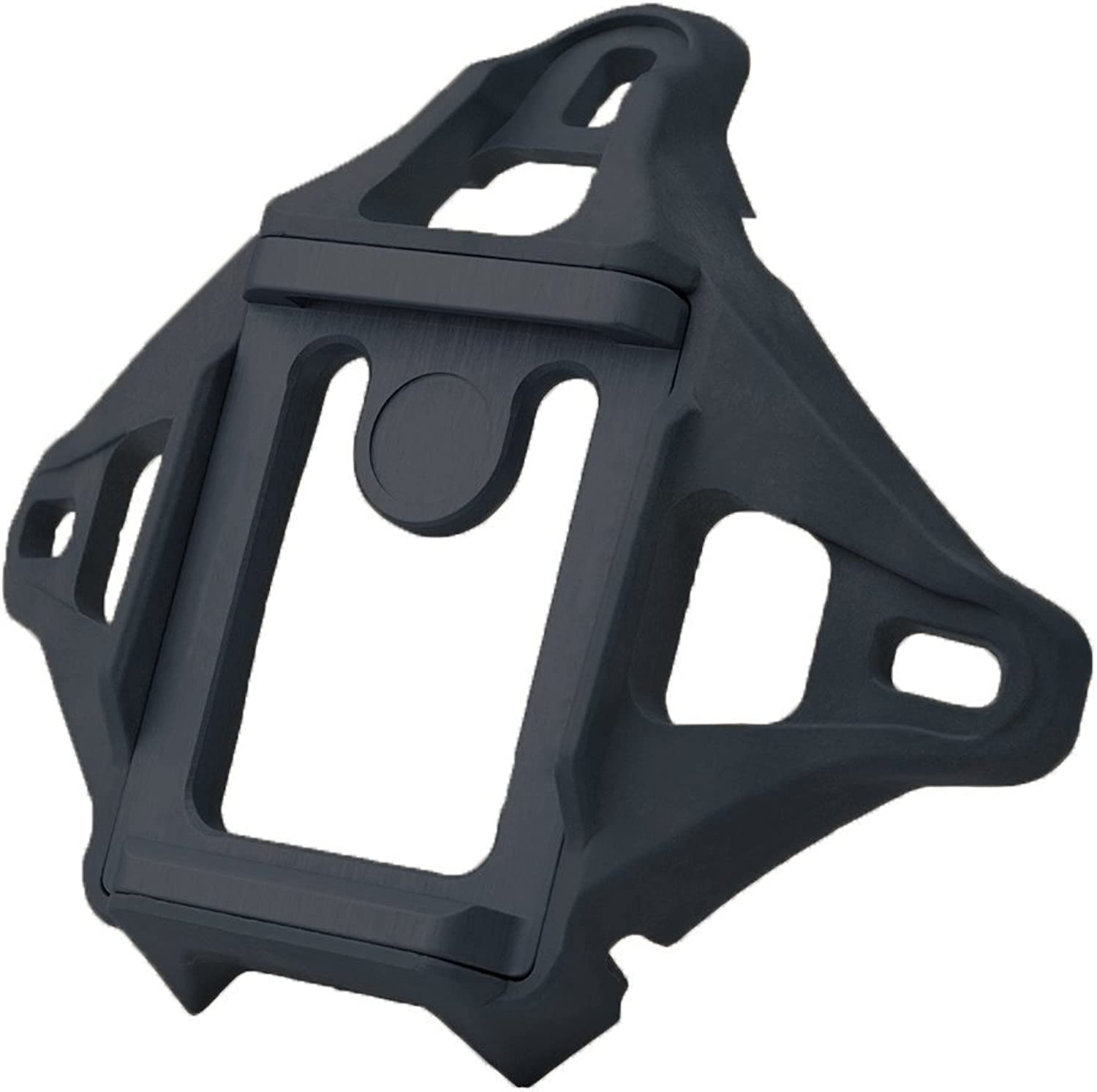 DLP Tactical 3Hole Skeleton NVG Mount Shroud for ACH   MICH   OPSCore FAST   Crye AirFrame Helmet (Black)