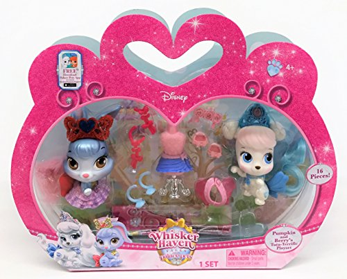 Disney Princess Palace Pets, Whisker Haven Tales, Pumpkin and Berry's Tutu-Terrific Playset by Disney