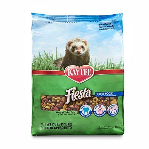 Kaytee Fiesta Ferret Food, 2.5-Lb Bag