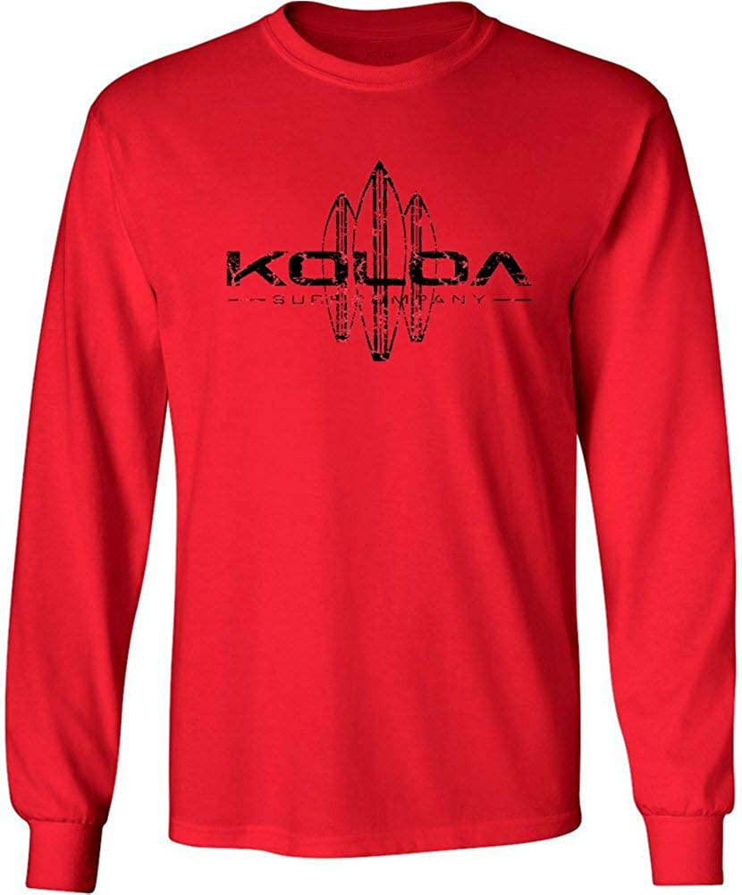 Koloa Surf Co. Vintage Surfboard Popular standard Sleeve Long T-Shirts Regular in Max 44% OFF