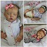 Kit de muñeca Reborn de 17 Pulgadas, tamaño de bebé Prematuro, Twin B, Realista, Tacto Suave, Color Fresco, Piezas de muñeca sin terminar
