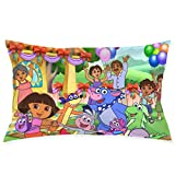 ShleyRob Dora The Explorer Room Sofa Car Decoration Pillow Case Cushion Cover Zipper Square 20 in X 30 in