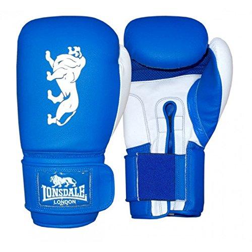 Lonsdale Erwachsene Cruiser Boxhandschuh, blau/Weiß, 12 oz