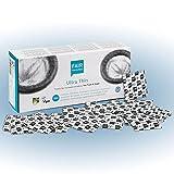 FAIR SQUARED Préservatifs ultra-minces 100 boîtes de 52 mm - Préservatifs végétaliens 100s fabriqués à partir de caoutchouc naturel issu du commerce équitable - préservatifs au toucher ultra-minces