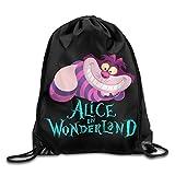 Drawstring Bag Alice in Wonderland Cheshire Cat