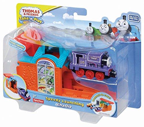 Thomas et ses Amis – Take & Play – Speedy Launching – Charlie – Lanceur + Locomotive