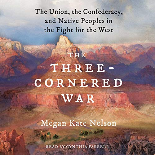 The Three-Cornered War Audiobook By Megan Kate Nelson cover art