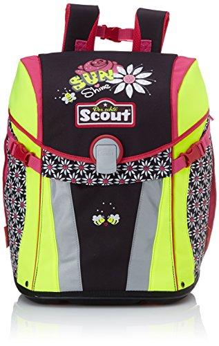 Scout 73410714700 Sunny Schulranzen-Set, Schwarz/Pink