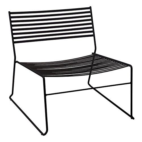 emu Aero Lounge Gartenstuhl, schwarz BxHxT 66x64x70cm