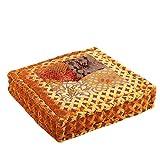 albena shop 72-109 Brasso indisches Bodenkissen 45x45x10cm (Gold)
