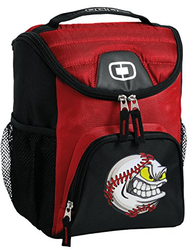 Baseball Lunch Bag Insulated Soft Cooler BASEBALL FANATIC Best Size Lunchbox