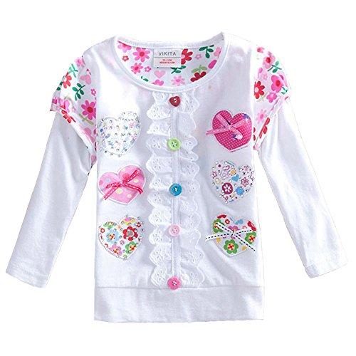 Loving Hearts Long Sleeve T Shirt