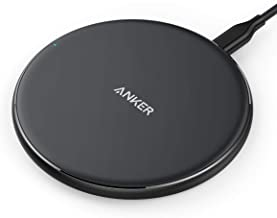 Anker Wireless Charger, Qi-Certified Ultra-Slim Wireless Charger Compatible iPhone Xs Max/XS/XR/X/8/8 Plus, Galaxy S9/S9+/...