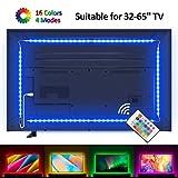 Lampee Led TV Hintergrundbeleuchtung, 2M USB Led Beleuchtung Hintergrundbeleuchtung Fernseher für 32-65 Zoll HDTV, TV-Bildschirm und PC-Monitor mit dimmbaren Farbauswahlen und Helligkeit