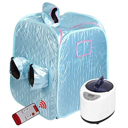 Yyl Sauna Zimmer Steamer Haushaltswasserdichte Faltbare Dampfsauna Box Steamer Tent Spa-Maschine for Dampfraum Generator