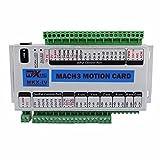 ECO-WORTHY CNC Mach3USB Tarjeta de 3Axis 400kHz Placa de Interfaz Controlador de Movimiento CNC multiconector Interfaz Controlador Junta